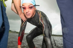 REPRO FREE Provision 300815 Barry O'Regan pictured at the Musgrave Triathlon, which took place in Farran Woods with 400  participants taking the plunge in this years charity triathlon challenge.  The  Musgrave Triathlon, which is now in its fourteenth year, has raised over €3.7 million  for Irish charities to date.  The fundraising target for the 2015 Musgrave Triathlon is €200,000, with  Breakthrough Cancer Research and Our Lady's Children's Hospital Crumlin the  beneficiaries of these charitable funds. To support the cause, you can donate online  via www.idonate.ie/MusgraveTriathlon. Alternatively SuperValu customers are  encouraged to pick up the charity trolley key instore for €2, with net proceeds  donated to the fund. Pic Michael Mac Sweeney/Provision