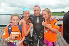 Pic 6 Triathletes and family