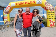 REPRO FREE.25/08/20182018 Musgrave Triathlon, at Farran Wood, Farran, Co. Cork.Established in 2002 the Musgrave Triathlon is an annual charity fundraiser event. Since its inception a staggering €4.4 million has been raised for charity. This year the three charities in receipt of the much-needed funds raised are Breakthrough Cancer Research, Focus Ireland and AsIAm.  Picture: Jim Coughlan.